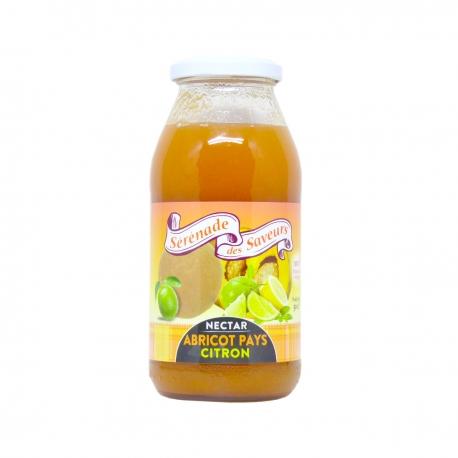 Sérénade des Saveurs nectar abricot pays-citron 50cl