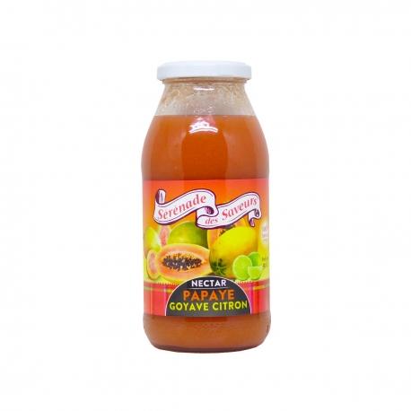 Sérénade des Saveurs nectar papaye-goyave-citron  50cl