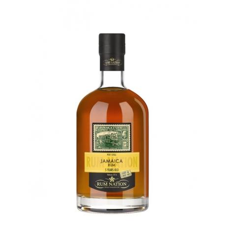Rum Nation Rhum Vieux 5 ans Pot Still Sherry Finish Oloroso 50° 70 cl Jamaïque