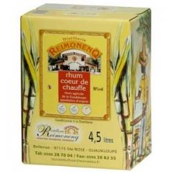 Reimonenq Rhum Blanc Coeur de chauffe cubi 50° 4,5L Guadeloupe
