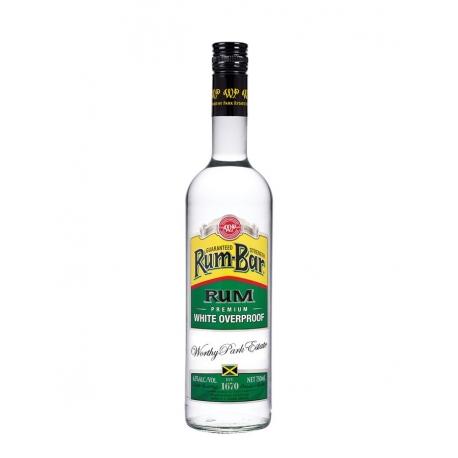 Worthy Park Rhum Blanc Rum Bar White Overproof 63° 70 cl Jamaïque