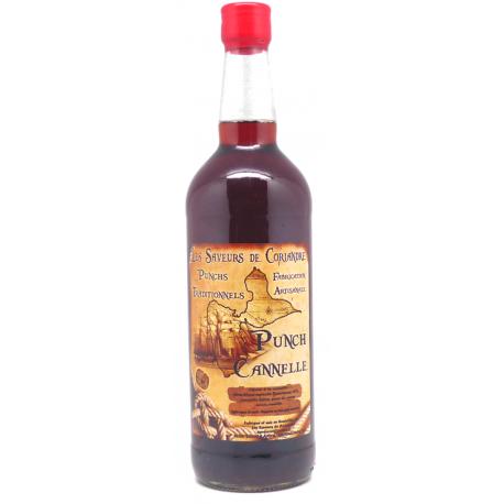 Saveurs de Coriandre Punch cannelle 30° 1L Guadeloupe