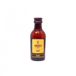 Abuelo Rhum Vieux  7ans 40° 70 cl 5 cl mini bouteille en plastique Panama