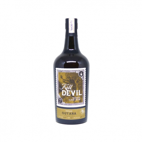 Kill devil Rhum Vieux Guyana uitvlugt 15 ans canister 46° 70 cl