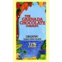 The Grenada Chocolate Noir Bio 71% Cacao  tablette 85 g Grenade