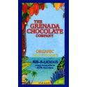 The Grenada Chocolate Noir Bio Nib-a-licious 60% Cacao et Grué tablette 85 g Grenade