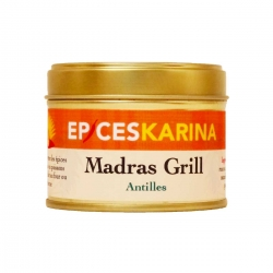 Epices Karina Madras grill pot de 50 g