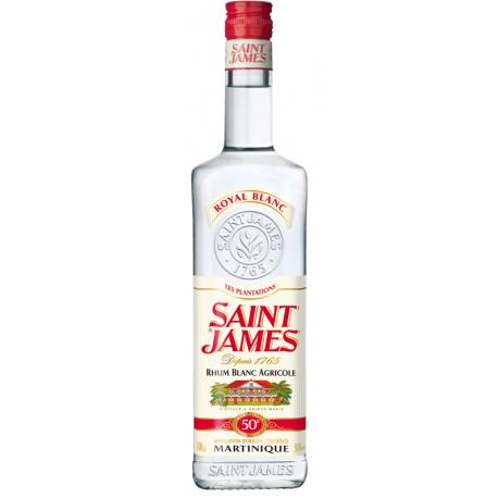 St james Rhum Blanc Royal 50° 1L Martinique