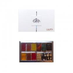 Lauzéa Mixte Chocolats et Pâtes de Fruits 2x6 pièces 130g