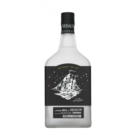 Neisson Rhum Blanc Bio par Neisson 52.5° 70 cl Martinique