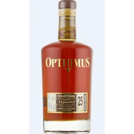 Opthimus Rhum Vieux 25 Finition Porto 43° 70 cl République Dominicaine