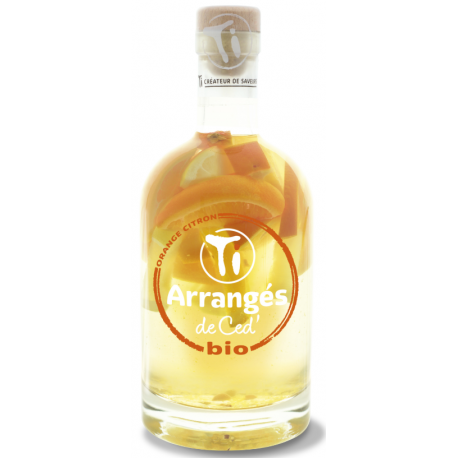 Ti Arrangés de Ced Orange Citron Bio 21° 70 cl
