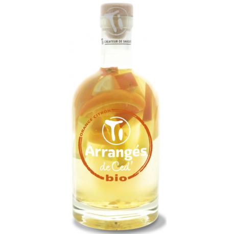 Ti Arrangés de Ced Orange Citron Bio 21° 70 cl