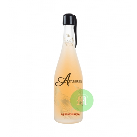 Appolinaire Rhum pétillant aphrodisiaque 12,70° 75 cl