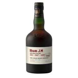 JM Rhum Vieux Multimillésime 2002 2007 2009 étui 42,3° 50 cl Martinique