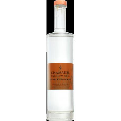 Chamarel Rhum Blanc coeur chauffe double distill 44° 70 cl Île Maurice