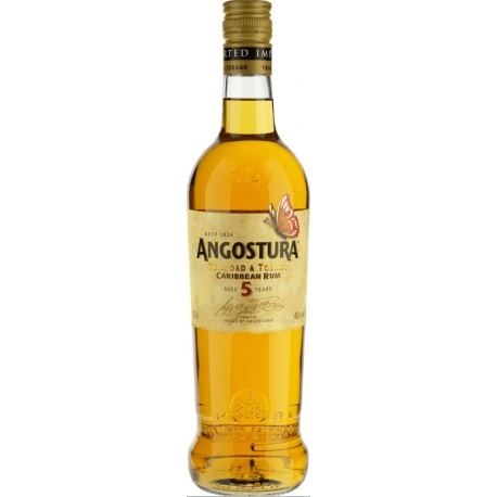 Angostura Rhum Vieux Butterfly 5 ans 40° 70 cl Trinidad et Tobago