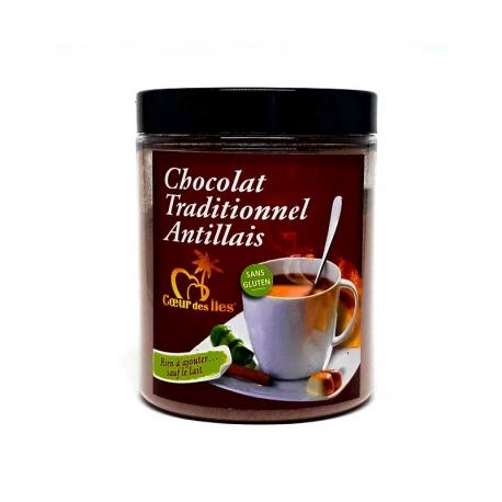 Cœur des Iles Chocolat Traditionnel Antillais en poudre 190 g