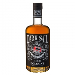 Bologne Rrhum Vieux Dark Sail 41° 70 cl Guadeloupe