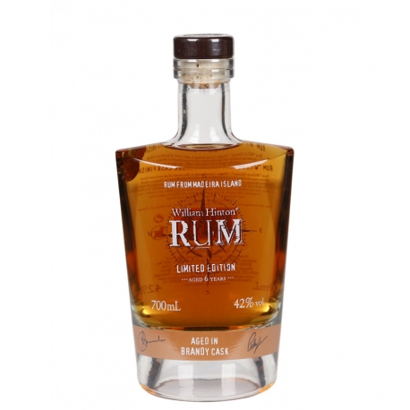 William Hinton Rhum Vieux 6 ans Brandy Cask 42° 70 cl Madère (Portugal)