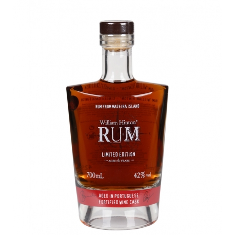 William Hinton Rhum Vieux 6 ans Portugaise Fortified Wine Cask 42° 70 cl Madère (Portugal)
