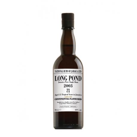 National Rums of Jamaica Rhum Vieux 15 ans Long Pond 2003 étui 63° 70 cl Jamaïque
