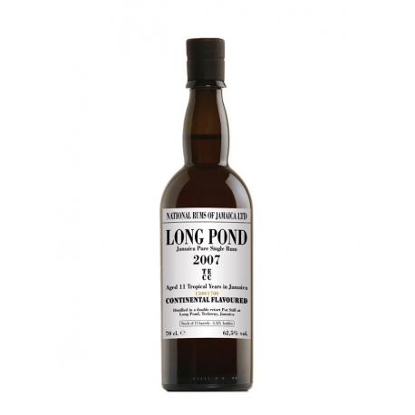 National Rums of Jamaica Rhum Vieux 11 ans Long Pond 2007 étui 62.5° 70 cl Jamaïque