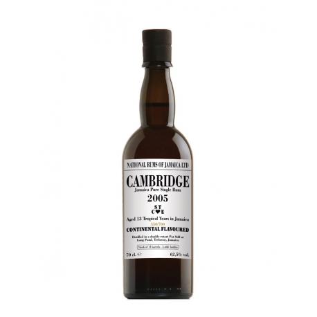 National Rums of Jamaica Rhum Vieux 13 ans Cambridge 2005 étui 62.5° 70 cl Jamaïque