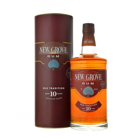 New Grove Rhum Vieux 10 ans Old Tradition 40° 70 cl Ile Maurice