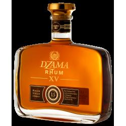 Dzama Rhum Vieux XV 15 ans carafe coffret 45° 70 cl Madagascar