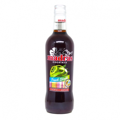 Madras Punch shrubb 40° 70 cl Guadeloupe