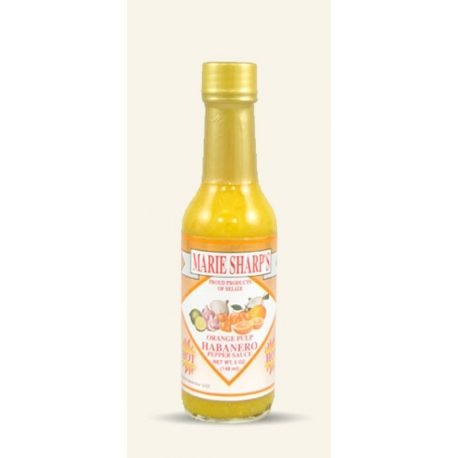Marie Sharp's Sauce Orange et Piment Habanero 148ml