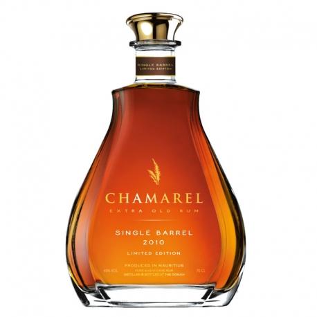 Chamarel Rhum Vieux Single Barrel 2010 édition limitée 45° 70 cl Ile Maurice