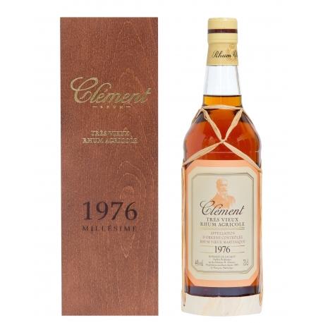 Clèment Rhum Vieux 1976 coffret 44° 70 cl Martinique