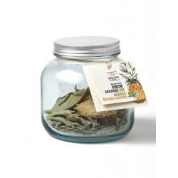 Quai Sud mélange pour rhum arrangé bio en bocal Ananas - Épices Douces (dose pour 70cl : 40 g)
