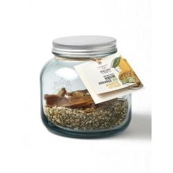 Quai Sud mélange pour rhum arrangé bio en bocal Mangue - Citon (dose pour 70cl : 90 g)