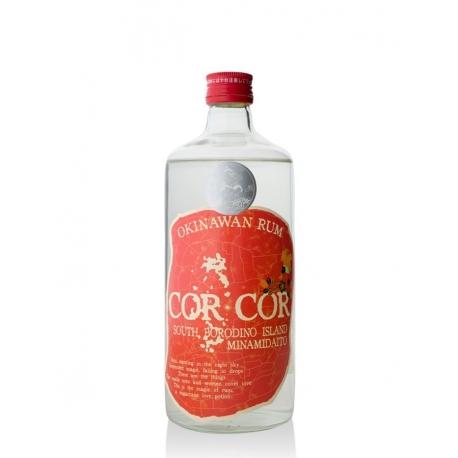 Cor cor red Rhum Blanc trad 40° 70 cl Japon