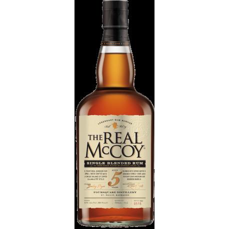 The Real McCoy rhum Vieux 5 ans 40° 70 cl Etats-Unis