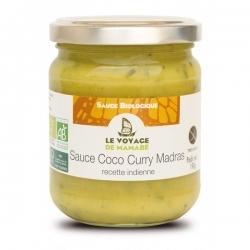 Le Voyage de Mamabé Sauce Coco Curry Madras bio 190g