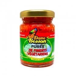 Dame Besson Purée de Piment Végétarien 90 g