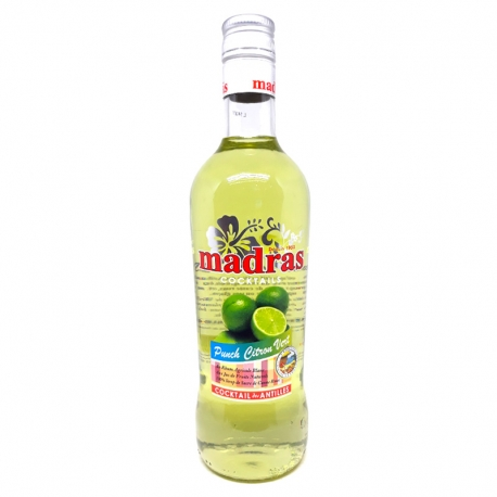 Madras Punch citron vert 18° 70 cl Guadeloupe