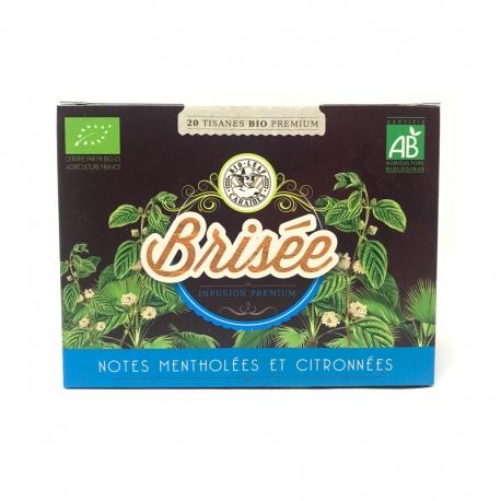 Herboristerie Créole Infusion Bio Brisée boite 20  infusettes 30g