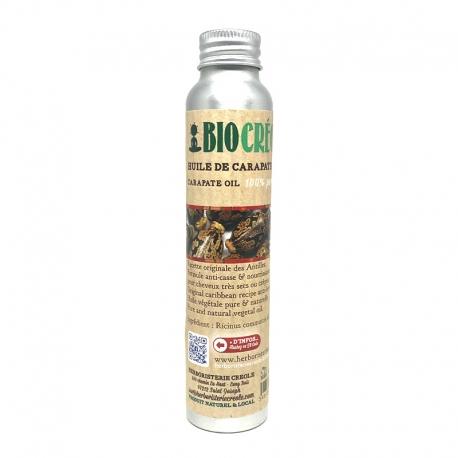 Biocreole Huile de Carapate 100% pure et locale 120 ml