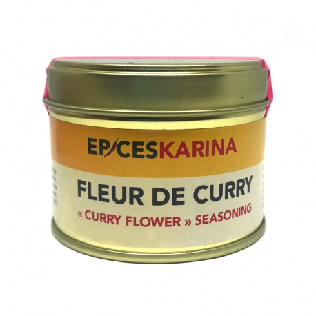 Epices Karina Fleur de Curry pot 50 g