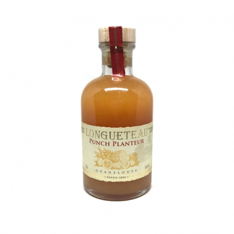 Longueteau Punch Planteur 16° 50 cl Guadeloupe