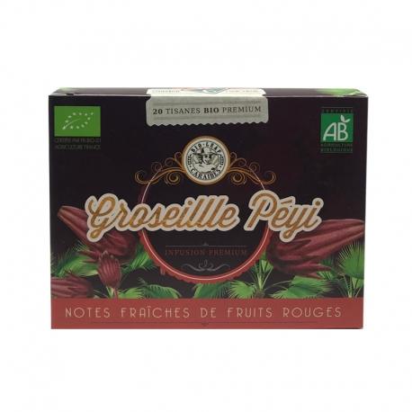 Bio Leaf Groseille Peyi Locale Bio boite 20 infusettes 30g