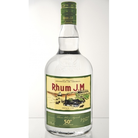 JM Rhum Blanc 50° 70 cl Martinique