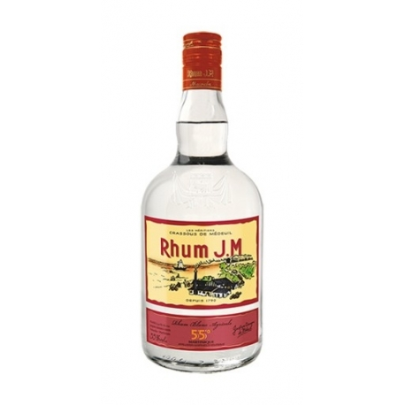JM Rhum Blanc 55° 1L Martinique