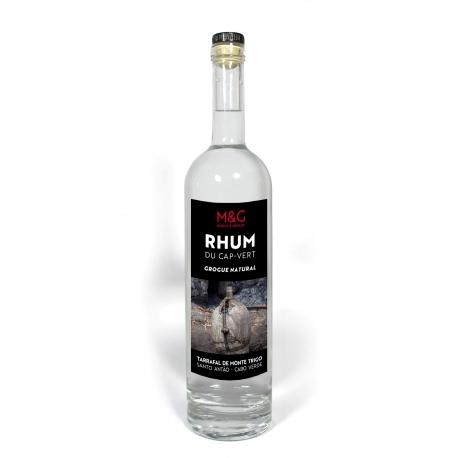 M & G Rhum Blanc Grogue Natural 44° 70cl Cap-Vert