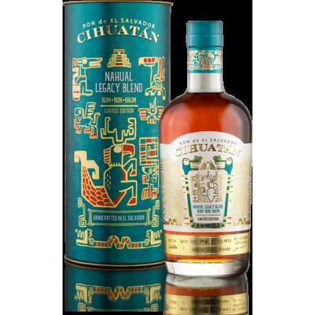 Cihuatan Rhum Vieux Nahual Legacy 47.5° 70 cl Salvador